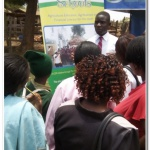 James of BSK at Kirinyaga County, Community Agriculture Field Day