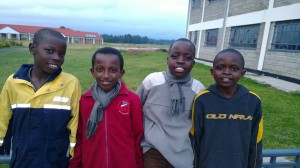 BSK students hangout on a weekend at school