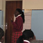Beverly students attend a workshop on career choices