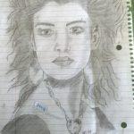 Art work by David a Beverly high school senior.