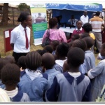 BSK Students presenting at Kirinyaga Agri Fair